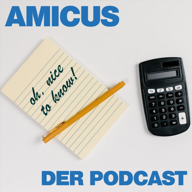 AMICUS - Nice To Know - Der Podcast